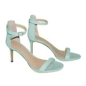Banana Republic Jaylen heeled sandals Mint Green 9